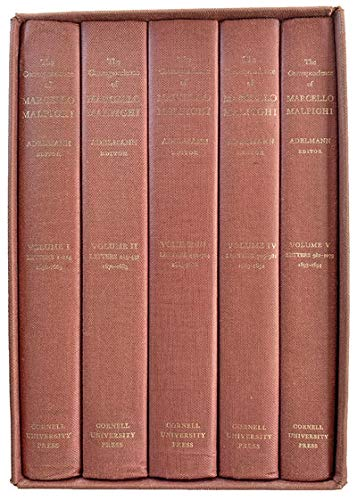 THE CORRESPONDENCE OF MARCELLO MALPIGHI [COMPLETE IN 5 VOLUMES]