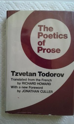 9780801408571: The Poetics of Prose