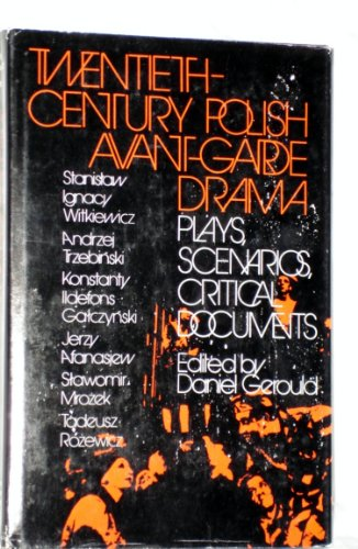 9780801409523: Twentieth Century Polish Avant-garde Drama (English and Polish Edition)