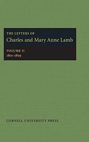 The Letters of Charles and Mary Anne: Lamb, Charles, Lamb,