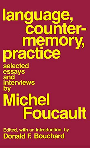 9780801409790: Language, Counter-Memory, Practice (English and French Edition)