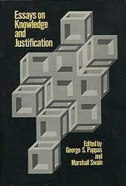 9780801410864: Essays on Knowledge and Justification