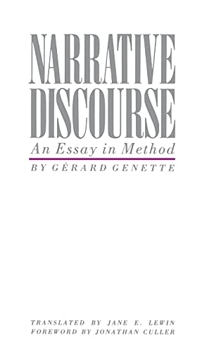 9780801410994: Narrative Discourse: An Essay in Method