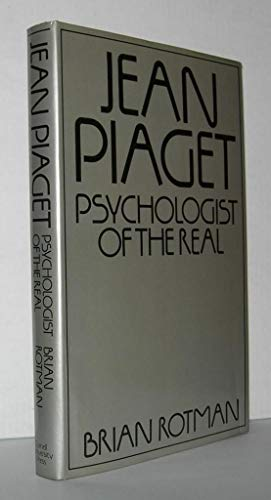 9780801411397: Jean Piaget: Psychologist of the real