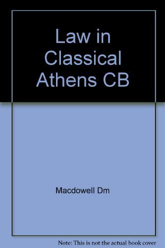 9780801411984: Law in Classical Athens CB
