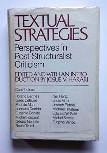9780801412189: Textual Strategies: Perspectives in Post-Structural Criticism