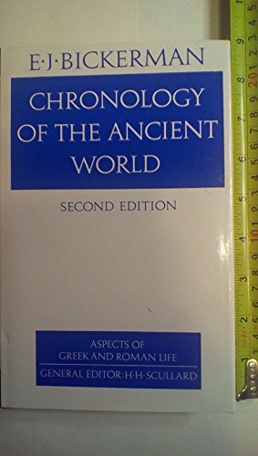 9780801412820: Chronology of the Ancient World (Aspects of Greek and Roman Life)