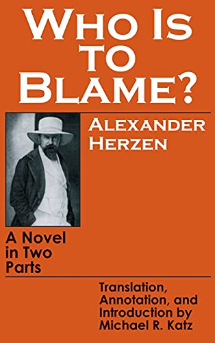 9780801414602: Who Is to Blame: A Novel in Two Parts (English and Russian Edition)