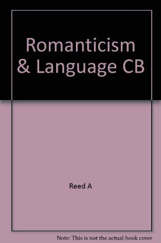 9780801416064: Romanticism and Language