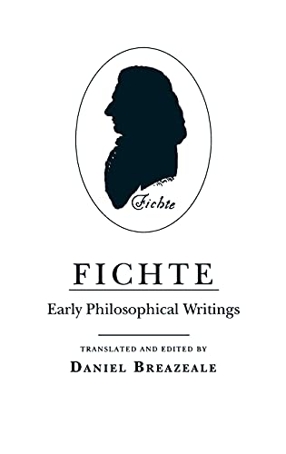 9780801417795: Fichte: Early Philosophical Writings