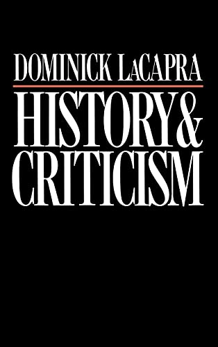 9780801417887: History Criticism CB