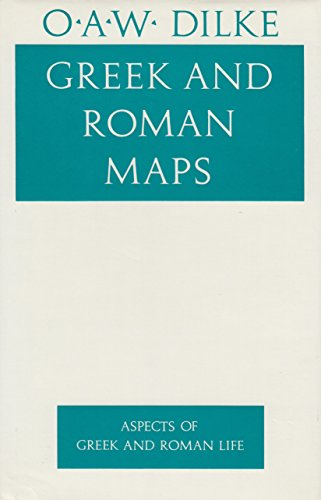 9780801418013: Greek and Roman Maps (Aspects of Greek and Roman Life)