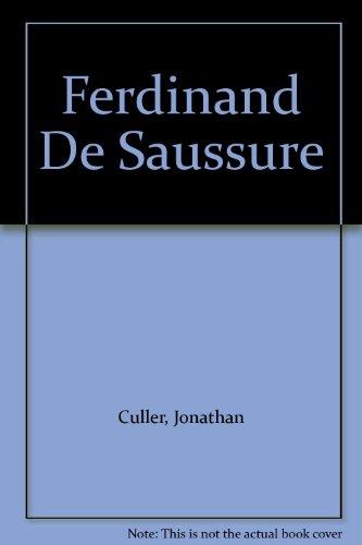 9780801419171: Ferdinand De Saussure