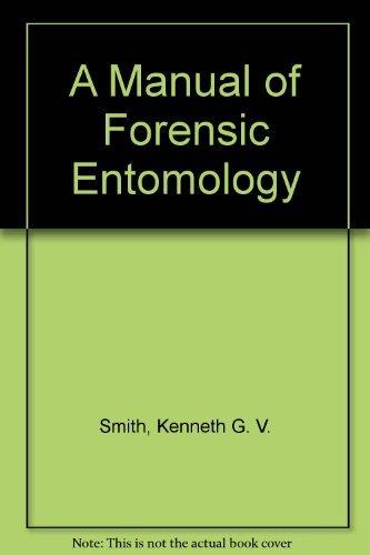 9780801419270: Manual of Forensic Entomolo CB