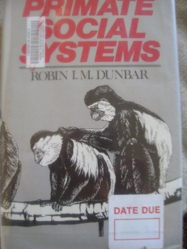 9780801420870: Primate Social Systems