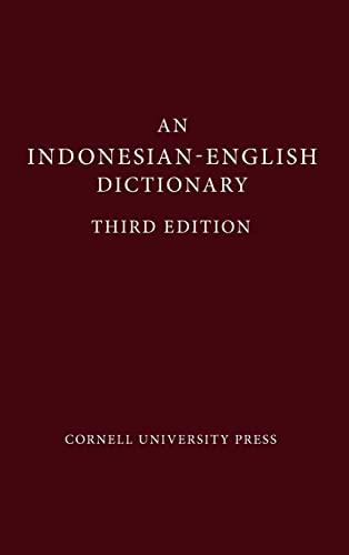 An Indonesian-English Dictionary: John M. Echols,