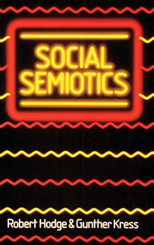 9780801421952: Social Semiotics CB