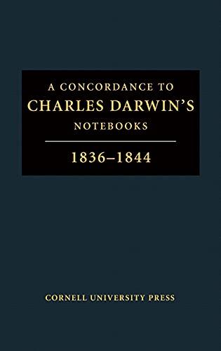 "A Concordance to ""Charles Darwin's Notebooks, 1836-1844: Darwin, Charles; Weinshank,"