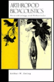 9780801424786: Arthropod Bioacoustics: Neurobiology and Behaviour