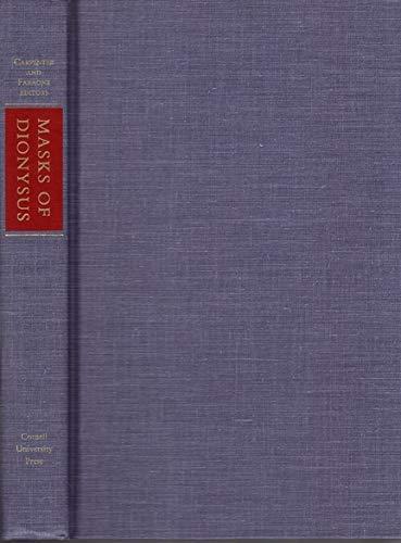 9780801427794: Masks of Dionysus (Myth and Poetics)