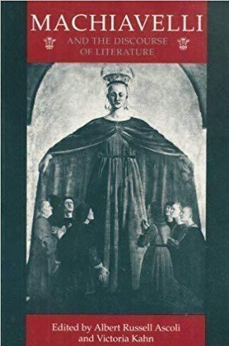 9780801428708: MacHiavelli and the Discourse of Literature