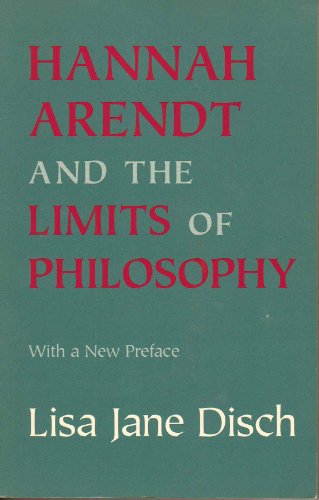 9780801430138: Hannah Arendt and the Limits of Philosophy