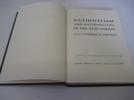 9780801431623: Nationalism and Nationalities in the New Europe