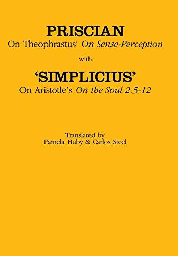 "9780801432828: On Theophrastus's ""On Sense Perception"" and On Aristotle's ""On the Soul 2.5–2.12"" (Ancient Commentators on Aristotle)"