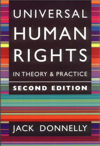9780801440137: Universal Human Rights in Theory and Practice