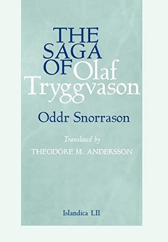 9780801441493: The Saga of Olaf Tryggvason