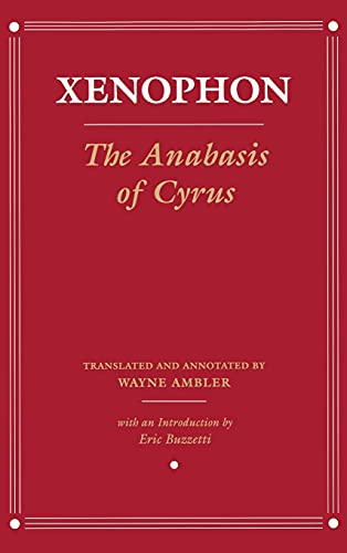 9780801443985: The Anabasis of Cyrus: Version 2 (Agora Editions)