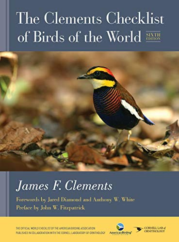 The Clements Checklist of Birds of the World (Sixth Edition)