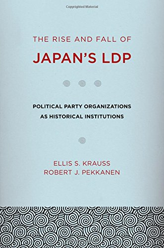 9780801449321: The Rise and Fall of Japan's LDP: Political Party Organizations as Historical Institutions