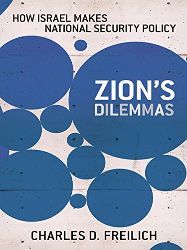 9780801451041: Zion's Dilemmas: How Israel Makes National Security Policy