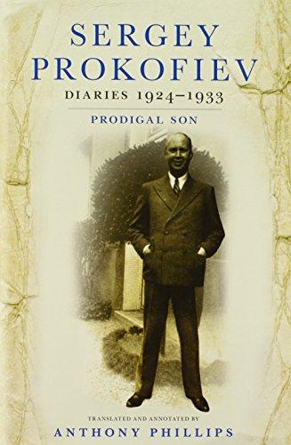 9780801452109: Sergey Prokofiev Diaries, 1924-1933: Prodigal Son