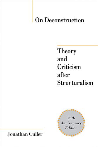 9780801474057: On Deconstruction: Theory and Criticism after Structuralism