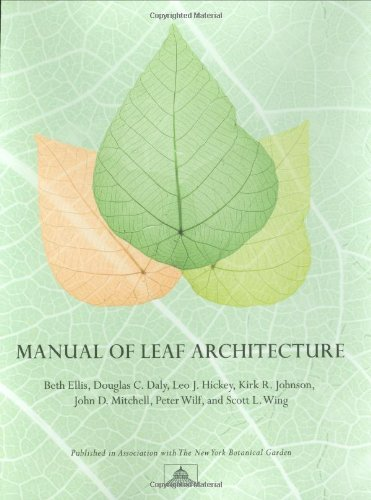 9780801475184: Manual of Leaf Architecture