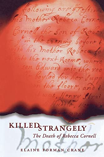 9780801475276: Killed Strangely: The Death of Rebecca Cornell