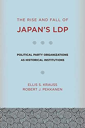 9780801476822: The Rise and Fall of Japan's LDP: Political Party Organizations As Historical Institutions