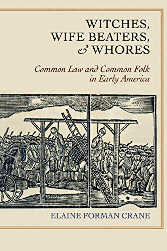 9780801477416: Witches, Wife Beaters, and Whores: Common Law and Common Folk in Early America
