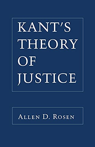 9780801480386: Kant's Theory of Justice