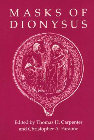 9780801480621: Masks of Dionysus (Myth and Poetics)