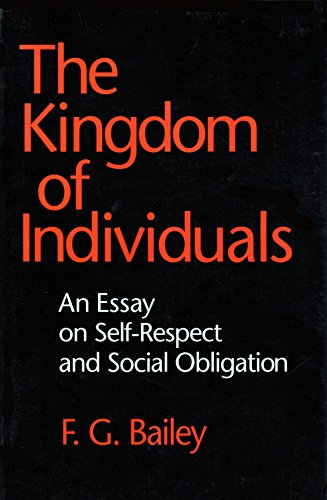 9780801480782: The Kingdom of Individuals: An Essay on Self-Respect and Social Obligation (Cornell Paperbacks)
