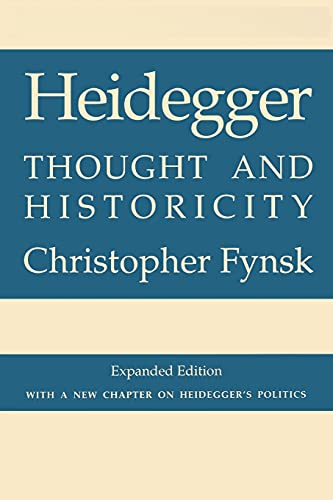 9780801481581: Heidegger: A Philosophical Reader: Thought and Historicity