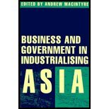 Business and Government in Industrialising Asia