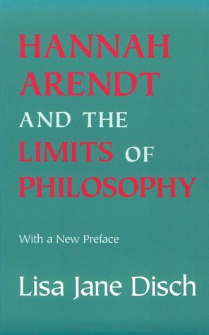9780801483783: Hannah Arendt and the Limits of Philosophy (Cornell Paperbacks)