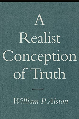 9780801484100: A Realist Conception of Truth