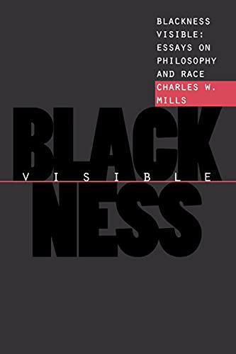 9780801484711: Blackness Visible: Essays on Philosophy and Race (Cornell Paperbacks)