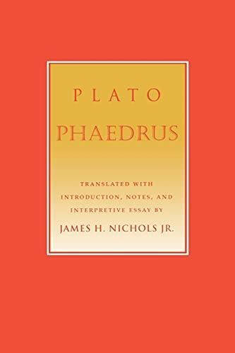 phaedrus plato essay Myth and philosophy in plato's phaedrus by daniel s werner (review)  the  rhetoric of morality and philosophy: plato's gorgias and phaedrus.