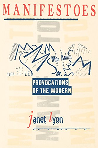 9780801485916: Manifestoes: Provocations of the Modern